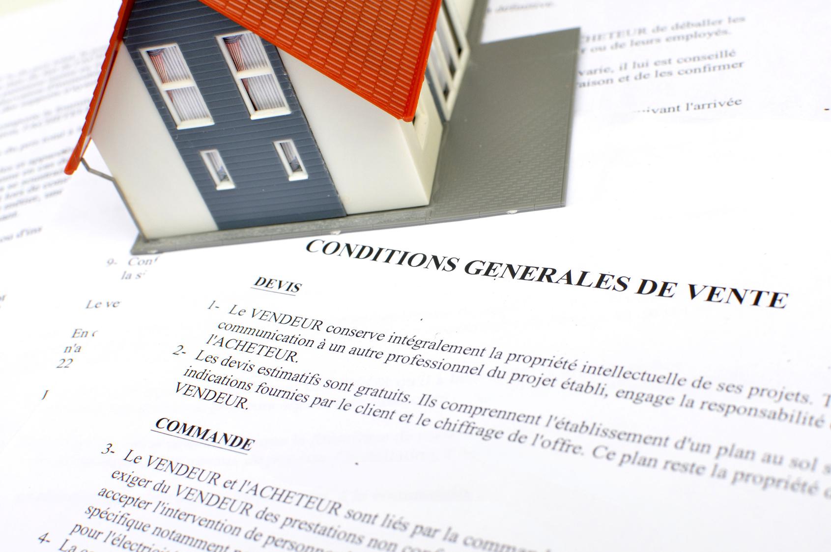 Conditions generales de vente